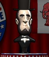 Abraham Lincoln in The Political Machine 2008