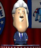 Bill Clinton in The Political Machine 2008