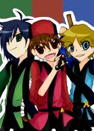 Commission bipinkbunny edo boys by xadako-d5ctzc4
