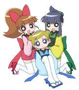 Oh Edo Chaki Chaki Girls 2 by cc kk
