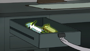 S6E04.127 Ghost Mordecai and Rigby in a Drawer