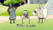 S8E01.018 Skips and Muscle Man Trying to Get a Signal