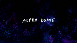 S8E18 Alpha Dome Title Card