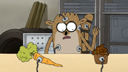 S7E06.132 Rigby Going for the Cupcake