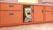S4E17.194 Muscle Man Hiding Inside a Cabinet