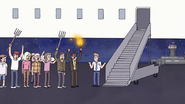 S7E09.194 The Angry Mob Cannot Get on the Plane