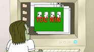 S7E25.199 Muscle Man Won Solitaire