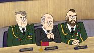 S6E08.208 Commander Romanoff, Premier Koshkov, and Karpov