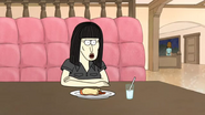 S3E25 Black Haired Woman