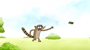 S4E31.004 Rigby Chasing the 100 Dollar Bill