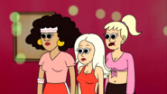 S4E06.142 Female Skaters Become Hypnotized By Muscle Man's Pecs