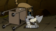 S6E19.107 Mordecai and Rigby Landing on the Bottom