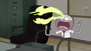 S6E04.131 Ghost Mordecai and Rigby Coming Out of Benson
