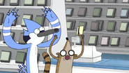 S3E34.224 Mordecai and Rigby Happy to Have Their Membership Card Back
