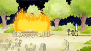 S8E23.409 Snack Bar on Fire
