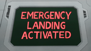 S8E19.025 Emergency Landing Activated