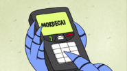 S03E16.111 Mordecai Typing In His Name
