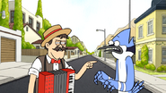 S6E11.063 The Telegram Guy is Disgusted by Mordecai