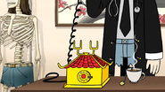 S6E26.028 Death Kwon Do Doctor on the Phone