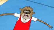 S7E21.044 Rigby Laying on the Mat