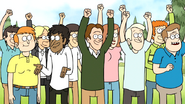 S7E19.090 The Crowd Cheering for Gene