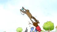 S7E11.106 Mordecai Giving Rigby a Boost