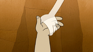 S6E02.148 Muscle Man's Hand Slipping