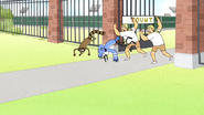 S4E31.027 Security Throwing Out Mordecai and Rigby