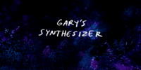 Gary's Synthesizer