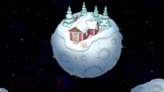 S8E23.135 Red House on Asteroid