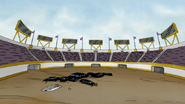 S4E21.251 The Stadium Cheering For Mordecai and Rigby
