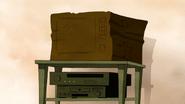 S4E20.077 Cardboard Box TV