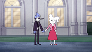 S5E37.093 Mordecai and CJ Holding Hands