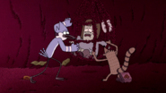 S5E04.009 Mordecai and Rigby Trying to Help