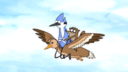 S2E23 Mordecai And Rigby Fly On Mother Duck0