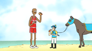 S6E19.084 A Basketball Player and a Jockey