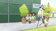 S4E31.044 Mordecai and Rigby Blending In