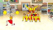 S6E11.073 CJ IM SORRY Cheer Squad