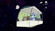 S8E01.163 The Duo in a Space Cart in Space