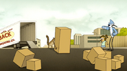 S6E06.142 Rigby Dropping a Huge Box
