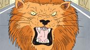 S7E17.024 Fake Lion Jump Scare