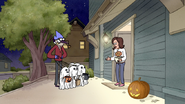 S3E04.190 Halloween Mom Talking to Mordecai