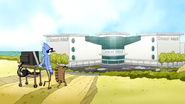 S6E19.052 Mordecai and Rigby Heading Towards Coast Mall