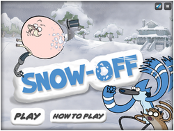 Snow-Off Title Card