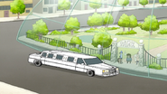 S7E05.042 Mr. Maellard's Limo at the Dome