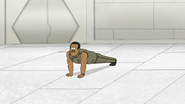 S8E15.095 Rawls Doing Regular Push-Ups