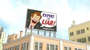 S5E28.009 Expert or Liar! Billboard