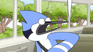 S6E12.167 Mordecai Sees a Beak in Front of Him