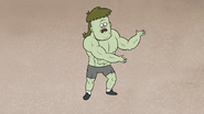 S5E11.045 Muscle Man Posing and Explaining 01