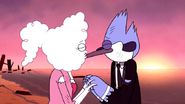 S5E37.172 Mordecai and CJ Kiss During a Sunrise